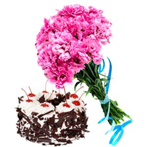 Carnation Combo: Gift Manorama Ganj,  Indore