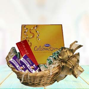 Cadbury Basket: Mothers-day-chocolates  Indore