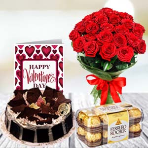 Chocolate Combo: Rose Day Baoliakhurd,  Indore