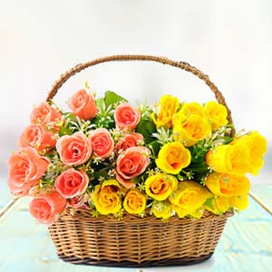 Rose Basket: Gifts Sringar Colony,  Indore