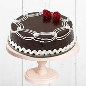 Rich Chocolate Cake: Gifts Govt College,  Indore