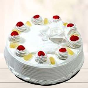 Pineapple Cake: Anniversary Gifts For Mom Juni Indore,  Indore