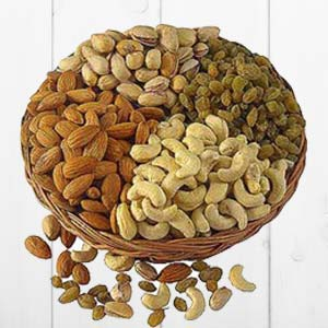 Dry Fruit Basket Big: Dry fruits Nandagar, Indore