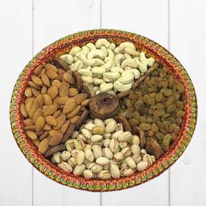 Dry Fruit Thali: Christmas  Indore