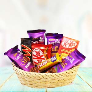 Chocolate Basket Mixed: Gift Javeri Bagh,  Indore
