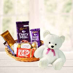 Teddy Combo: Valentine's Day Chocolates Nanda Nagar,  Indore