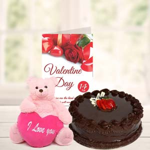 Cake Teddy & Card: Gifts Agrawal Nagar,  Indore