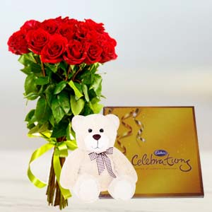 Flowers, Chocolate & Teddy: Gift New Palasia,  Indore
