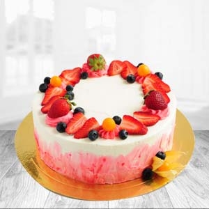 Fruit Cake: Gift Govt College,  Indore