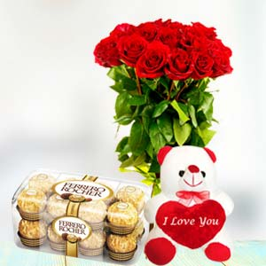 I LOVE YOU: Karwa Chauth Gifts Agrawal Nagar,  Indore