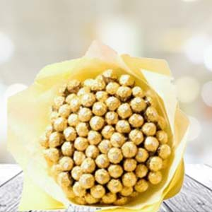 60 Ferrero Rocher In Bunch: Gift Kumarkhadi,  Indore