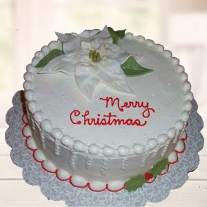 Vanilla 2 Kg Butterscotch Cake: Christmas  Indore
