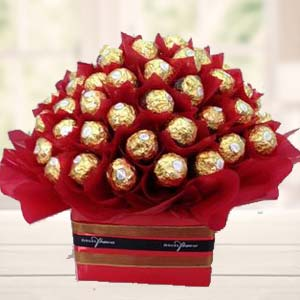 48 Ferrero Rocher Choco In Bunch: Valentine's Day Chocolates Biyabani,  Indore