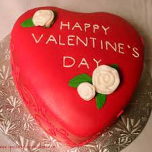 Red Velvet Heart Shaped Cake : Gifts Kumarkhadi,  Indore