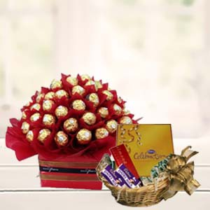 Special Chocolates Combo: Gift Army Head Quarter,  Indore