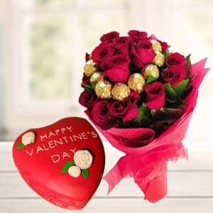 Valentine Chocolate Bunch Combo: Gift Raj Mohalla,  Indore