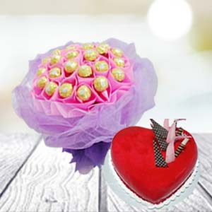 Special Chocolate Combo: Rose Day Baoliakhurd,  Indore