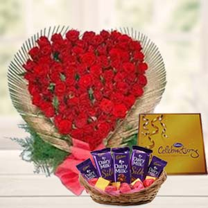 Special Love  Arrangement: Rose day Javeri-bagh, Indore