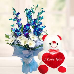 Orchids And Teddy: Gift Sudamanagar,  Indore