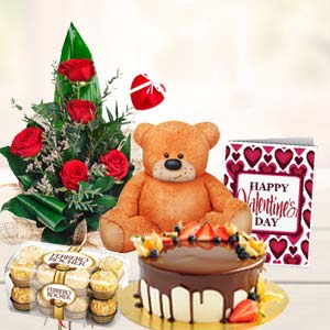 Special Combo: Rose Day Industrial Area,  Indore