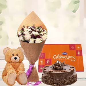 Beautiful Combo For Valentine: Teddy Day Bicholi Mardana,  Indore