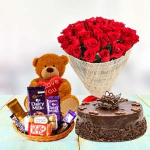 Valentine Chocolate Combo: Rose Day Indore City,  Indore