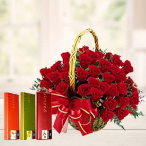 Cadbury Temptations With Roses: Gifts Topkhana,  Indore