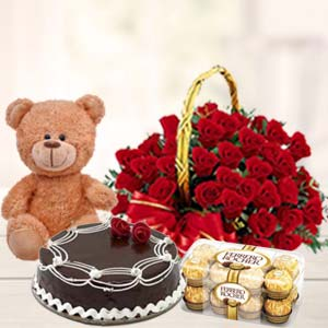 Valentine Day Perfect Combo: Gifts Tukoganj,  Indore