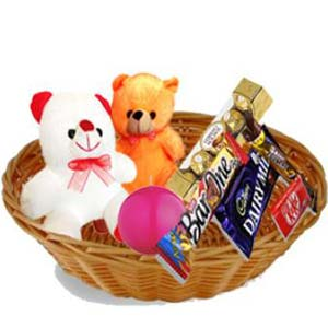 Teddy Combo Gift Hamper: Gift Cloth Market,  Indore