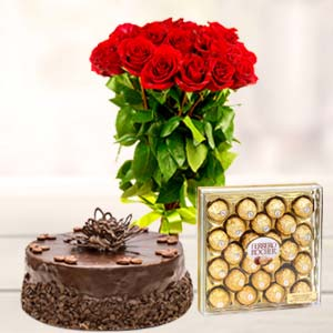 Ferrero Rocher Combo 24 Pieces: Valentine's Day Gifts For Girlfriend B K Colony,  Indore