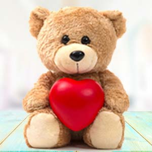 Brown Teddy with Pillow: Soft toys Siyaganj, Indore