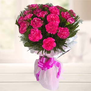 Bunch Of Carnations: Gifts Tilaknagar,  Indore