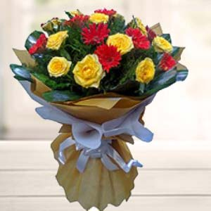 Bouquet Of Mix Flower: Gifts New Palasia,  Indore