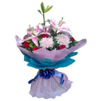 Mix Flowers: Gift R.s.s.nagar,  Indore