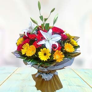 Exclusive Mix Flowers: Gift B K Colony,  Indore