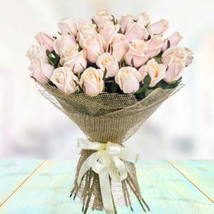 Bouquet Of White Roses: Gift Vallabhnagar,  Indore