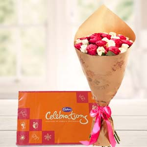 Best Celebrations Combo: Valentine's Day Flowers  Rajendra Nagar,  Indore