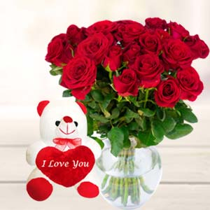 Best Teddy Combo: Valentine's Day Gift Ideas Dudhia,  Indore