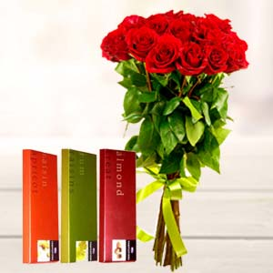 Best Roses Combo: Valentine's Day Gifts For Girlfriend Malharganj,  Indore