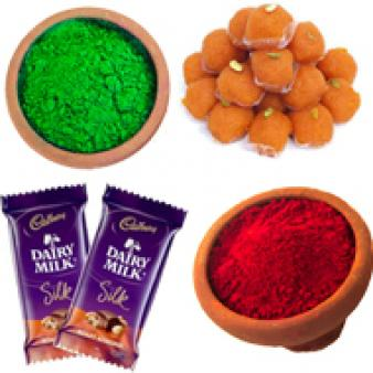 Cadbury Chocolates Holi Combo: Holi Radio-colony, Indore