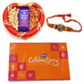Rakhi Celebrations GIft Hampers: Rakhi  Indore