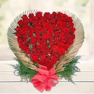 Red Rose Heart: Gift Burankhedi,  Indore
