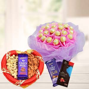 Ferrero Rocher Bunch Choco & Dry Fruit: Rakhi  Indore