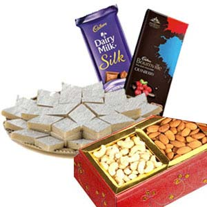 Medium Dry Fruits Box Combo: Rakhi Vallabhnagar,  Indore