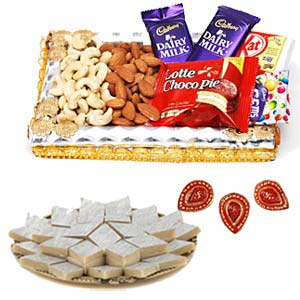 Half Kg Kaju Katli Sweets Combo: Mothers-day-sweets  Indore