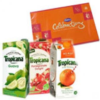Three Tropicana Juice Combos: Gifts For Boyfriend Biyabani,  Indore