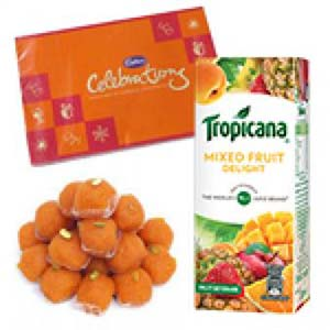 Tropicana And Sweets Combo: Gifts For Brother R.s.s.nagar,  Indore