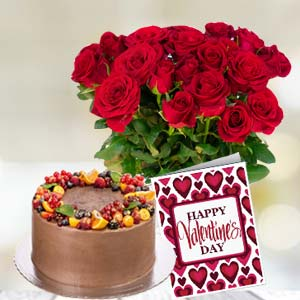 Rose Basket Combo: Anniversary New-palasia, Indore