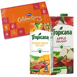 Two Tropicana Juice Combos: Gifts For Husband Cgo Complex,  Indore