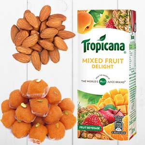 Tropicana Mixed Fruits Combo: Gifts For Brother Raj Mohalla,  Indore